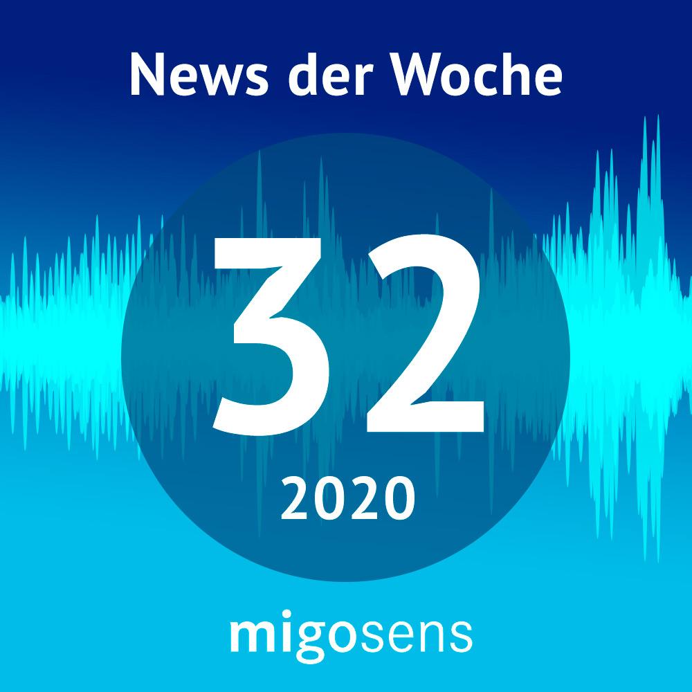 migosens Podcast - Datenschutz News der Woche KW 32-2020