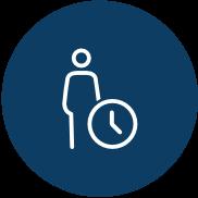 Icon Flexible Arbeitszeiten